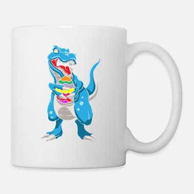 Easter Dinosaur T-Rex Easter Bunny Happy Easter Gift - Mug