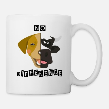 Dg Vegan veggie no difference dg cow - Mug