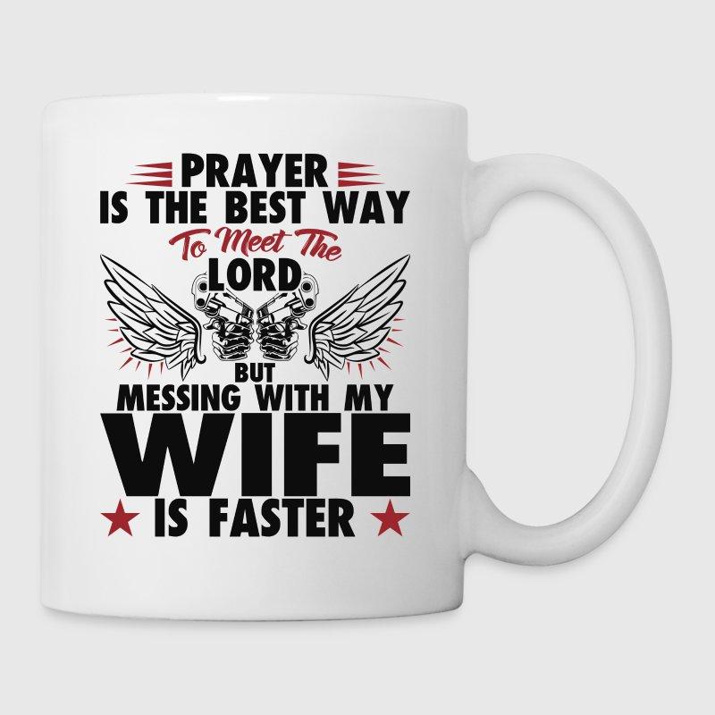 Messing with my Wife - muttertag geschenk von pintees | Spreadshirt