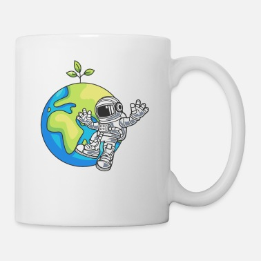 Astronauta Space Day Earth Gift Environment - Taza
