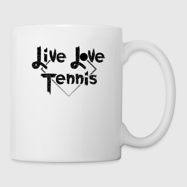Tennis Love Tennis Player Gift - Kubek