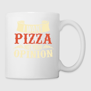 Pizza Opinion Eat Pizzaria Gift Italy - Tazza