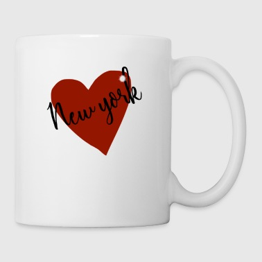 Love NY I heart new york design - Mug