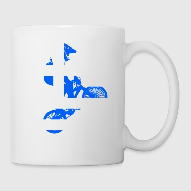 Greece World BMX racing flag - Mug