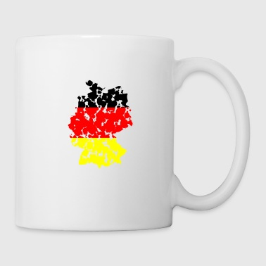 (Germany Flaggs) - Mug