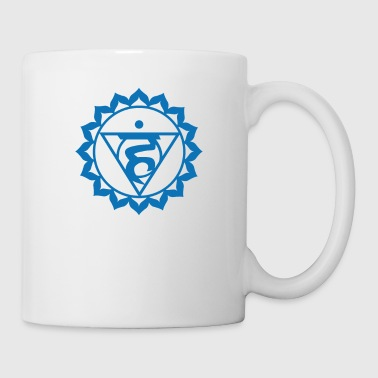 Chakra Sacred Symbol Yoga Meditation Gift Throat - Mug