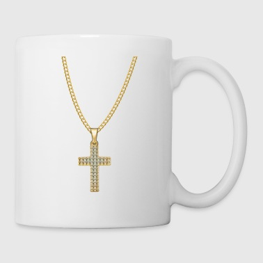 Ketting Jesus Christ Cross Gift - Mok