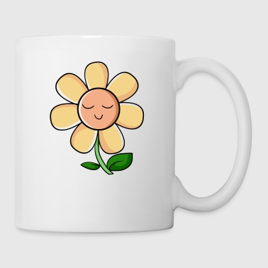 shy flower timid gift idea. net - Mug