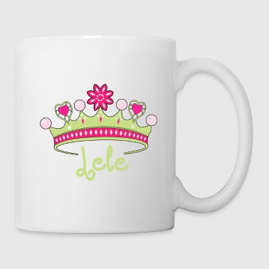 Donación Crown Heart License Cool Gift Idea Lele - Taza