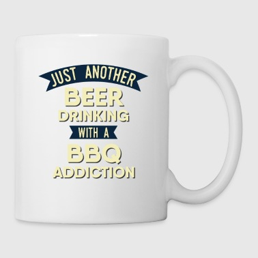 Pitmaster BBQ Barbecue food grill Put my meat in your mouth and swallow design bbq addiction - Mug