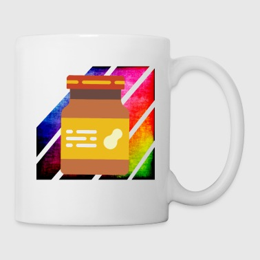 Colorful retro peanut butter - Mug