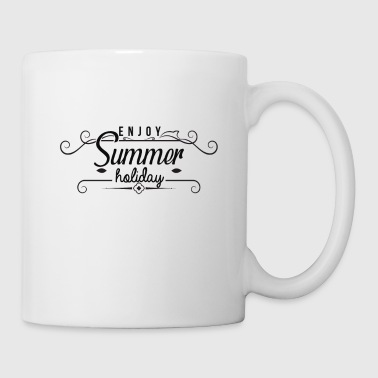 Summer sun beach holiday sea gift idea - Mug