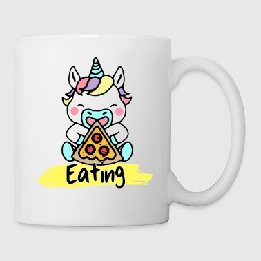 Unicorn / Unicorn Eating Designs by AR - Mug