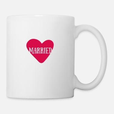 Just Just Married - Just Married Wedding - Tazza