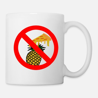 Pizza Hawaii Pizza Ban - Mug blanc