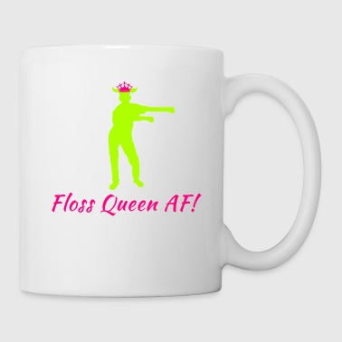 Floss Like A Boss Dance Flossing Dance Shirt Gift Idea Floss queen af - Mug