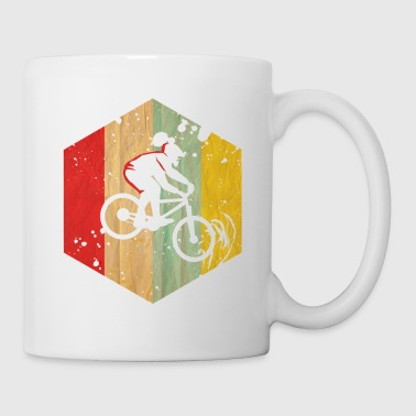 Mtb Bunter Mountainbiker - Tasse