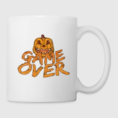 Game Over Gaming Halloween - Taza