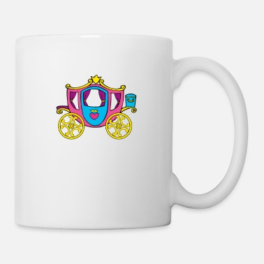 Transport Princesse de transport - Mug blanc