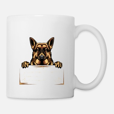 German Shepherd German Shepherd German Shepherd Gift - Mug