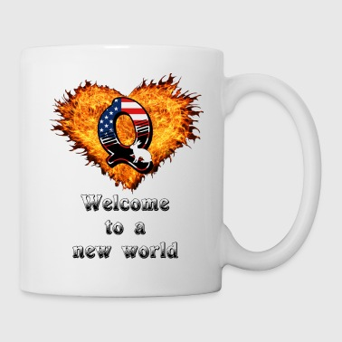 Change Welcome to a new world - Mug
