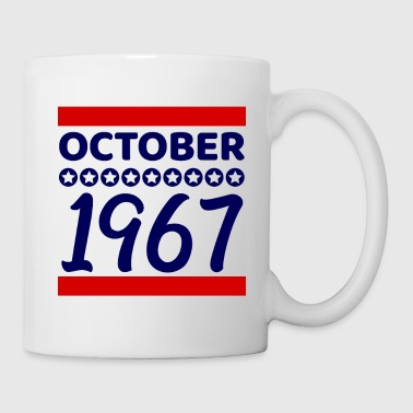 Age Birthday present October 1967 - Mug