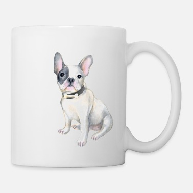 French Bulldog Frenchie French Bulldog BONE Dogs In Clothes - Mug