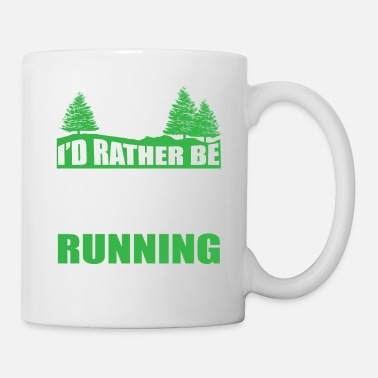 Trail Running Preferirei essere Trail Running - Tazza