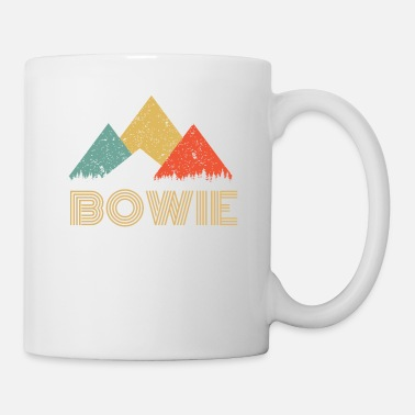 Conceptions Bowie Chemise Retro City of Bowie Mountain - Mug
