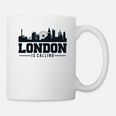 London London Is Calling - London UK Skyline - Mug