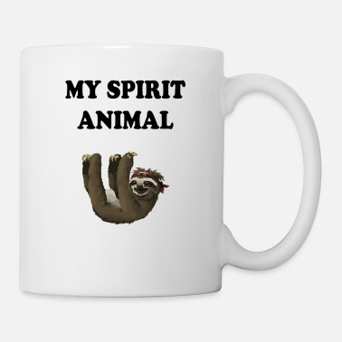 Spirit Spirit Animal Faultier - Tasse