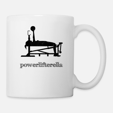 Funny Gym Powerlifterella funny Gym Powerlifting Workout - Tasse
