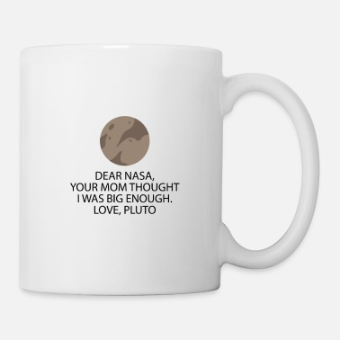 Nasa Dear Nasa Love Pluto - Mug blanc