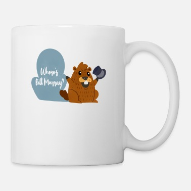 Felicità Funny Murray Marmot Tshirt Holiday Gift - Tazza