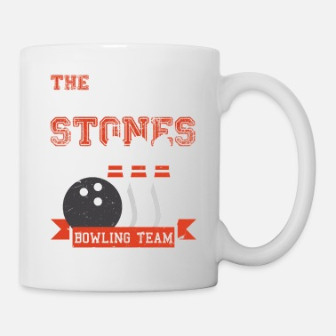Funny Bowling Funny Bowling Stones Team Gift T-Shirt - Tasse