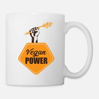 Health Vegan Power Health - Mug