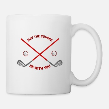 Golf Golfing golf ball golf clubs - Mug