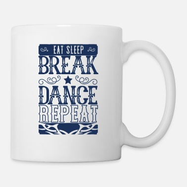 Adolescente Break dance breakdance breakdancer breakdance - Taza