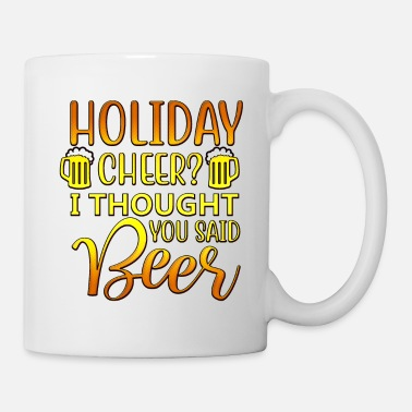 Lettertype Holiday Cheer - Mok
