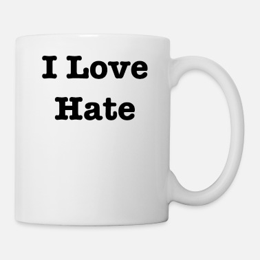 I Hate Adoro odiare - Tazza