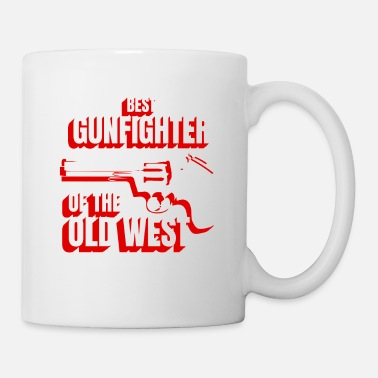 Revolución Wild West Collection mejor pistolero del viejo oeste - Taza