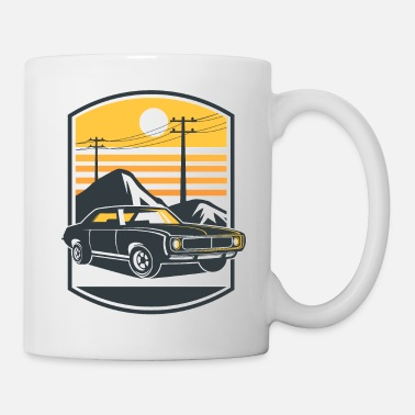 Muscle Car - Tasse