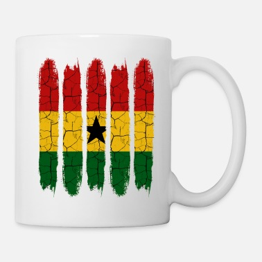 Patriot Trendy Ghana Modern National Colors Country Gift - Mug