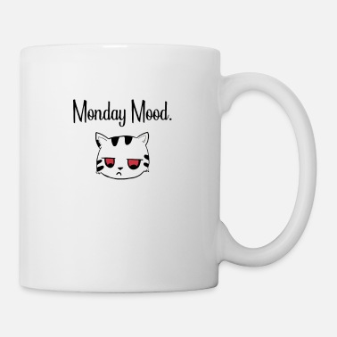 Scratch Monday Mood Cat sad Pet Stubentiger - Mug