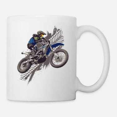 Gaz Motocross Dirt Bike motard hors route - Mug