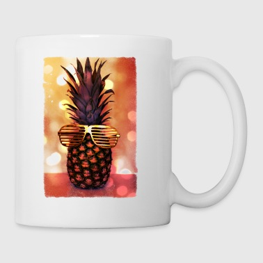 grill glass pineapple - grill brille ananas - Mug