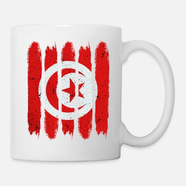 Patriote Drapeau national tunisien - Mug