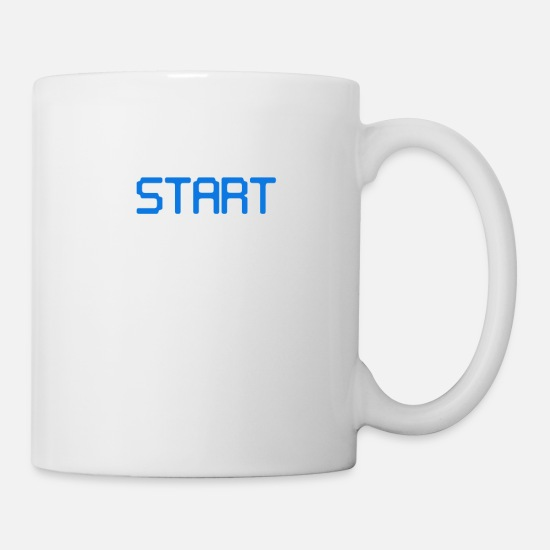 Game Mugs & Drinkware - Game Start Daily - Mug white