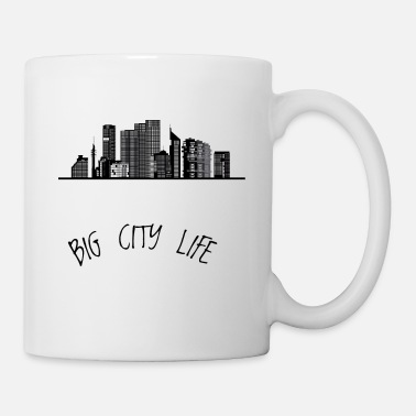 Big Sis Big city skyline - Mug