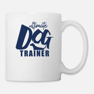 Training Dog dog school dog trainer dog training trick - Mug